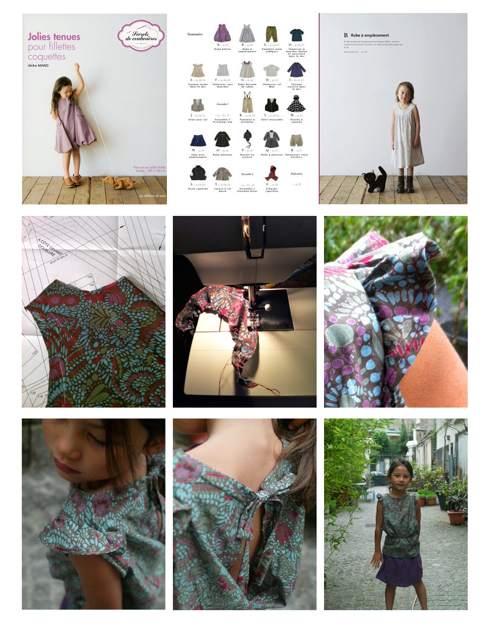 Lovely & Girly Girls Clothes by Akiko Mano