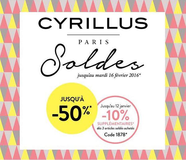 Soldes Cyrillus