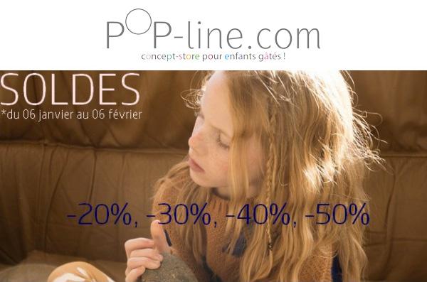 Pop-line Soldes