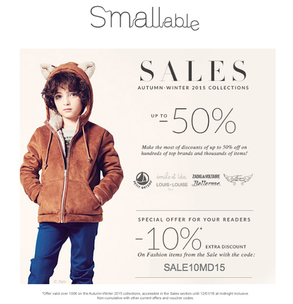 SMALLable Soldes