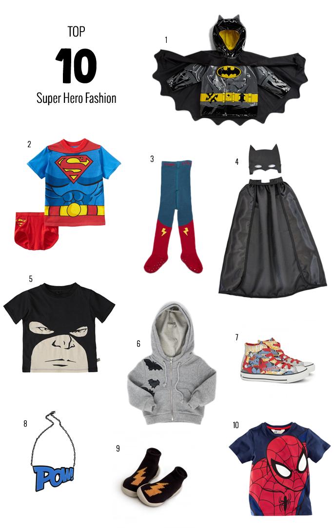 Super Hero Top 10