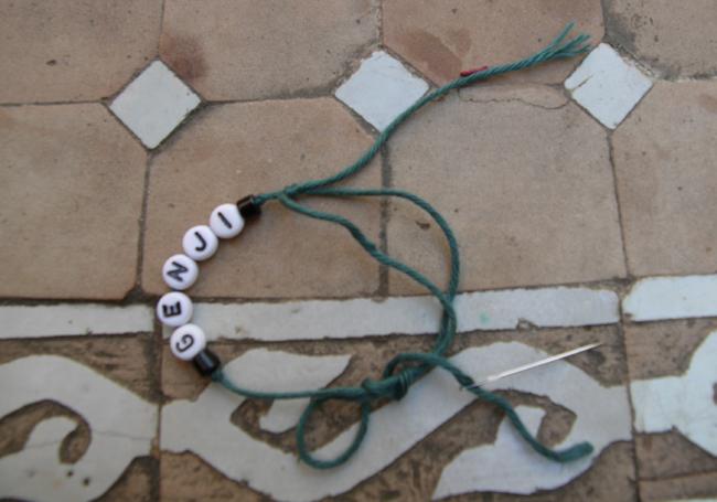 DIY Name Bracelet