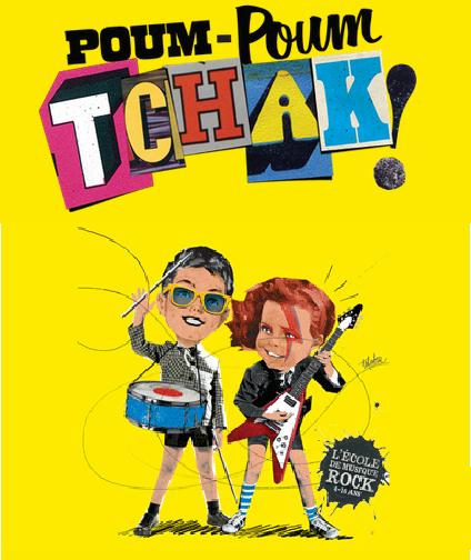 Poum Poum Tchak Ecole Musique