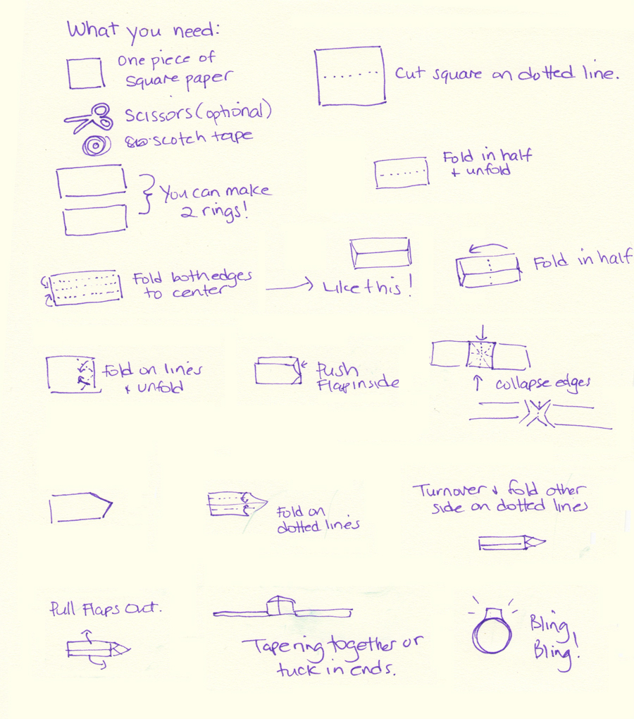 How to make a paper yoyo