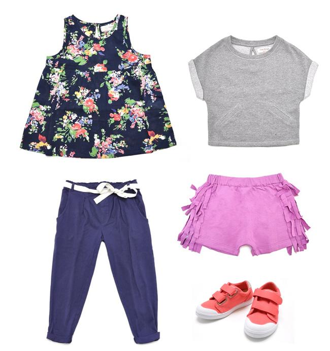 My Little Square Girls Fashion
