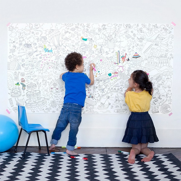 Omy Giant coloring poster