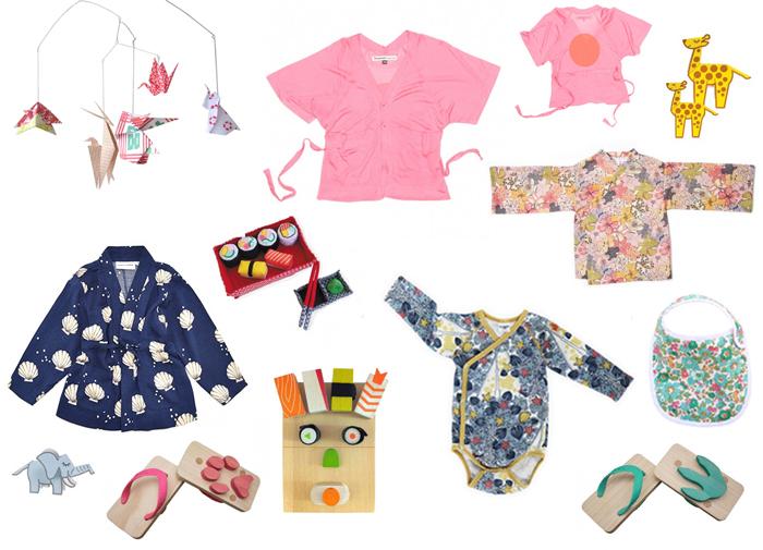 Japanese inspired Kids Fashion