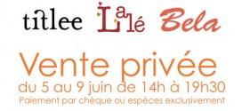 Lalé Sale in Paris