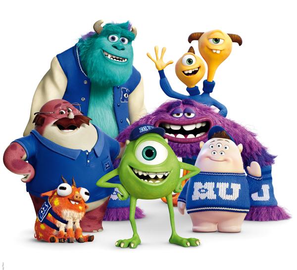 Monstres Academy Disney film