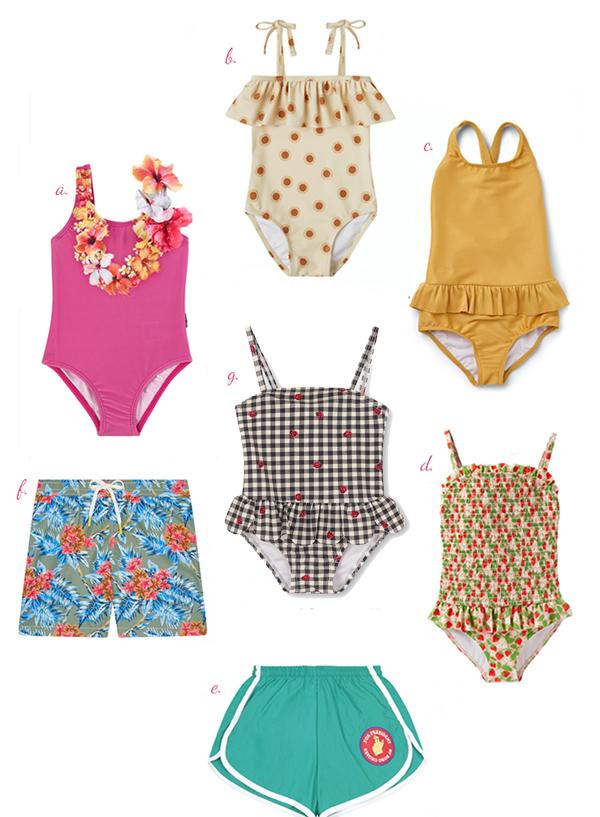 Retro swimwear for Kids