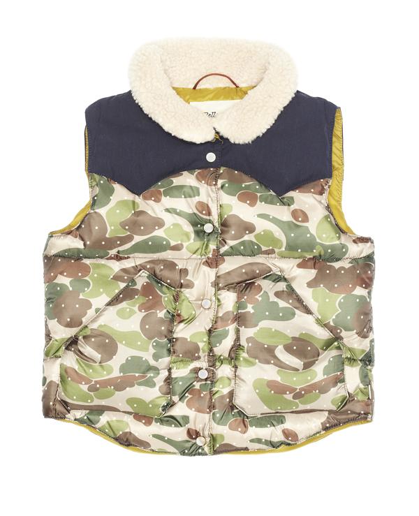 Bellerose Camouflage Loris Vest