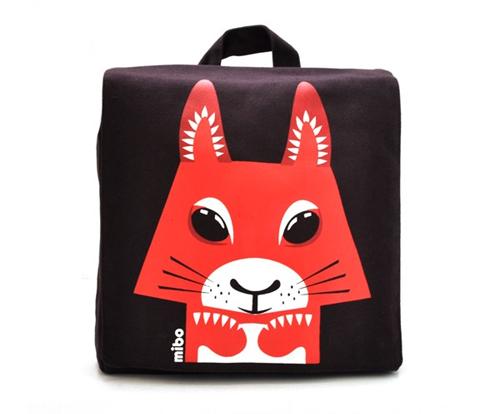 Coq en Pate backpack squirrel