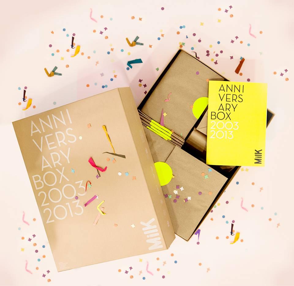 MilK Anniversary Box