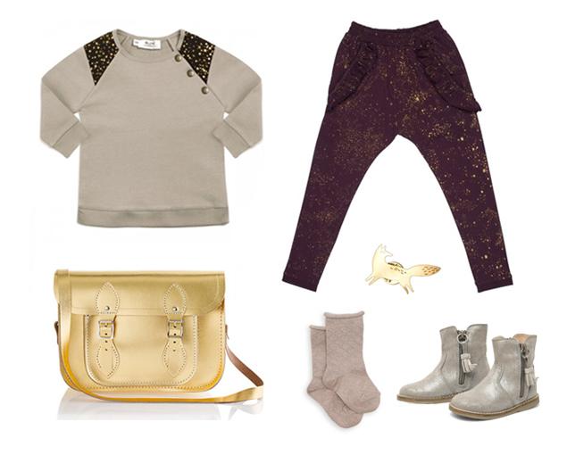 Gold Kids Fashion