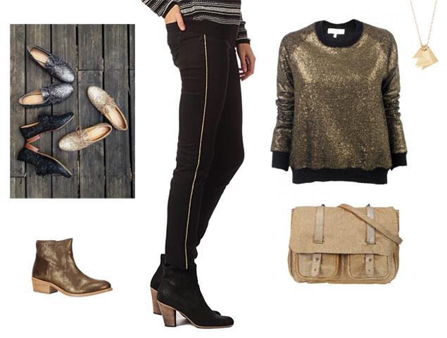 Gold Womens Fashion