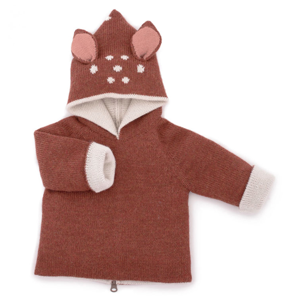 oeuf-nyc-bambi-animal-hoodie