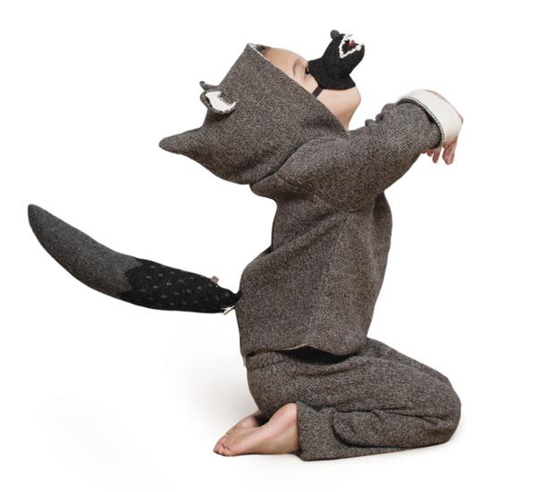 oeuf-nyc-wolf-animal-hoodie