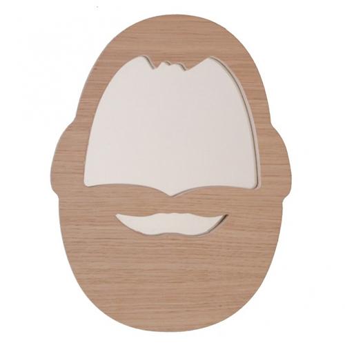 April Eleven Mustache Mirror