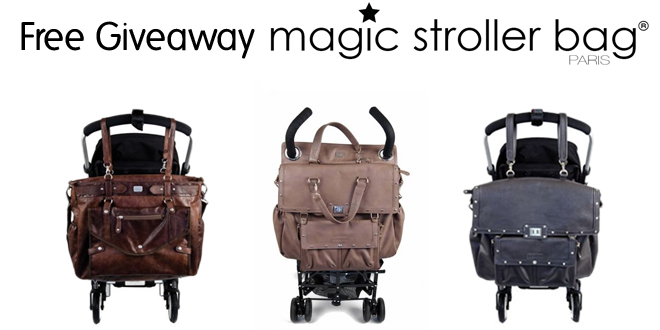 Magic Stroller Bag Free Giveaway