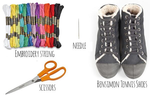 DIY Bensimon Embroidery