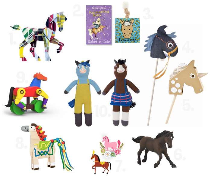 kids-horse-toys-selection