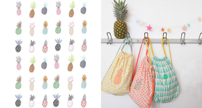 Affiche ananas Amyislaillustration sur Etsy