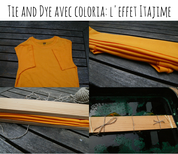 diy tie and dye avec coloria. Black Bedroom Furniture Sets. Home Design Ideas
