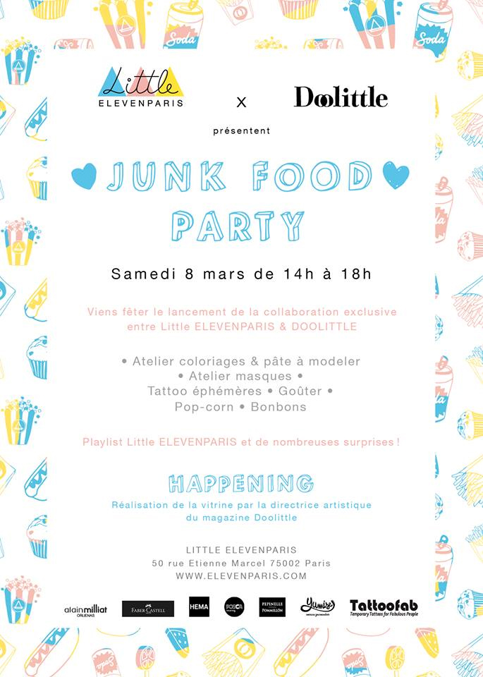 Doolittle Little Eleven Paris event