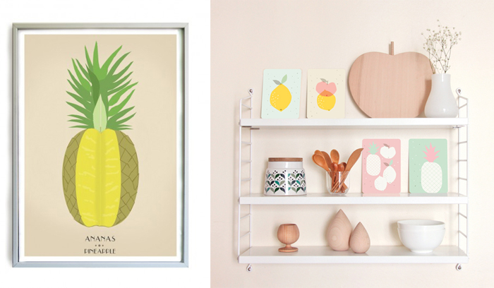 french-blossom-ZU-pineapple-poster