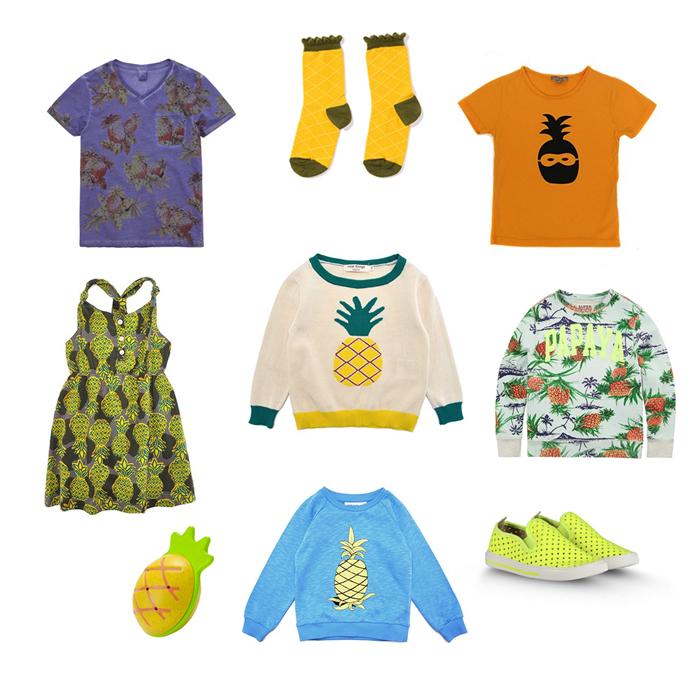 mode-enfant-tendance-ananas