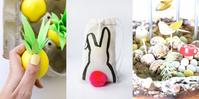 Last Minute DIY Easter Ideas