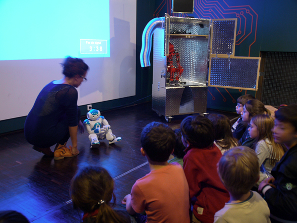 Cité des Sciences Art Robotique