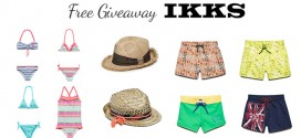 Free Giveaway IKKS – Win your choice of kids swimwear and hat!