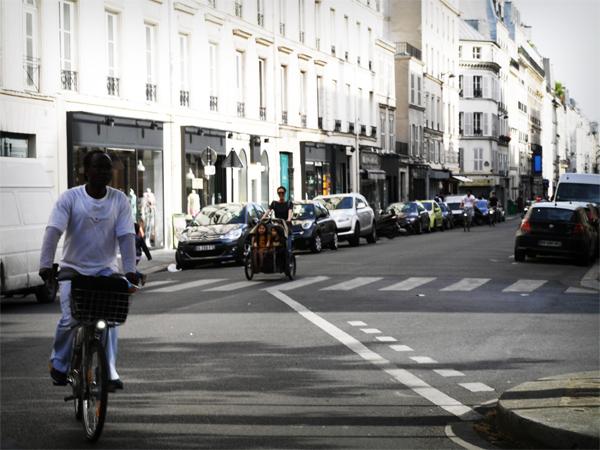 Nihola vélo triporteur Paris