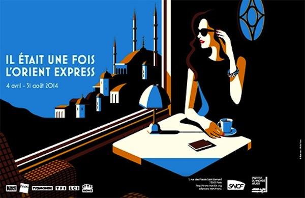 Expostion Il était une fois l'Orient Express à l'Institut du monde arabe