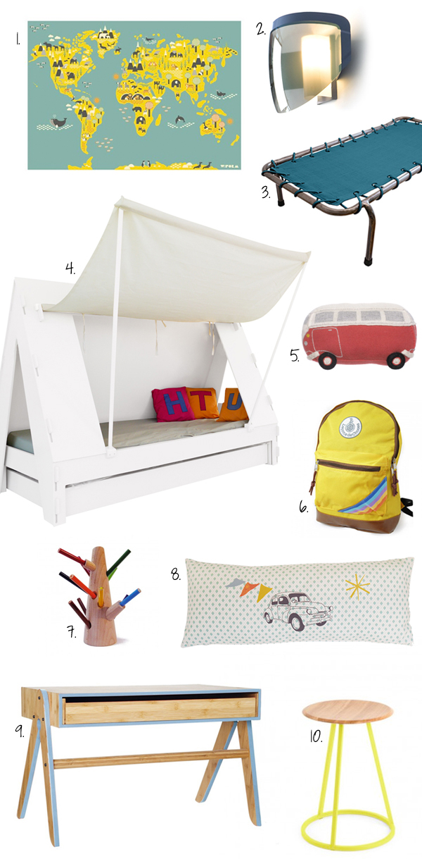 camping-kids-room-decor
