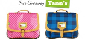 Free Giveaway Tann's : un cartable, une trousse et un bon d'achat à gagner !