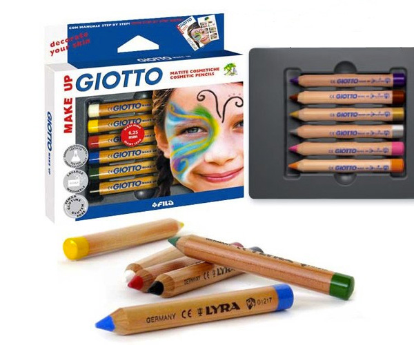 Giotto Face Paint Pencils