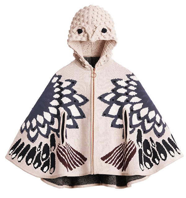 h-and-m-all-for-children-owl-poncho