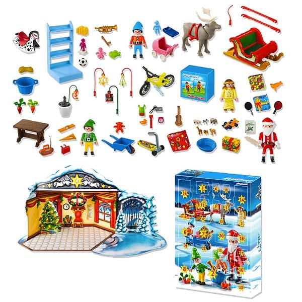 Playmobil-santa-Calendrier-Avent