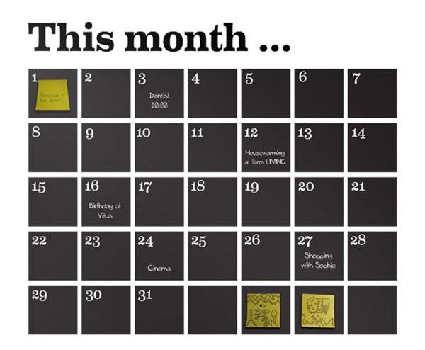 2015 Agenda And Calendar Selection