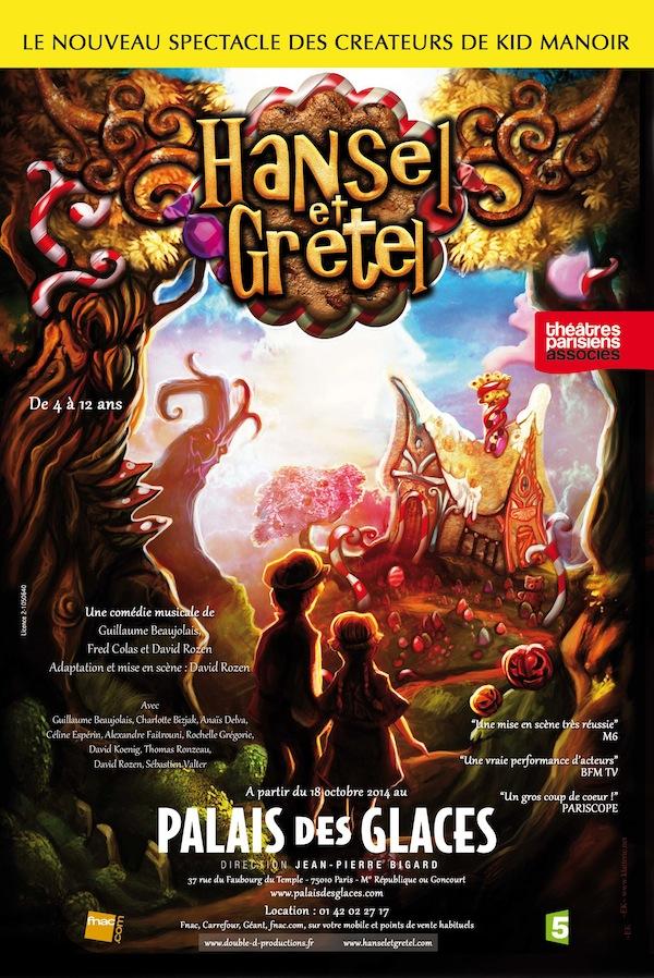 Hansel & Gretel au Palais des Glaces