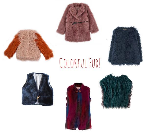 colorful-kids-faux-fur-coats