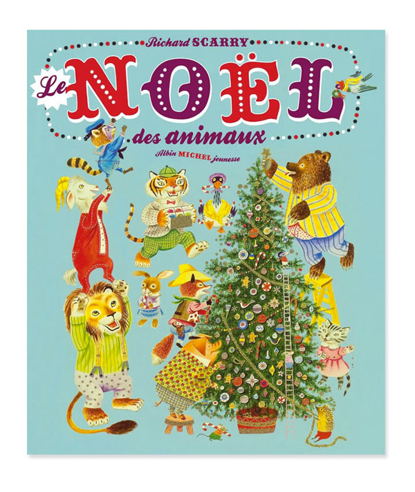 noel-des-animaux-richard-scarry