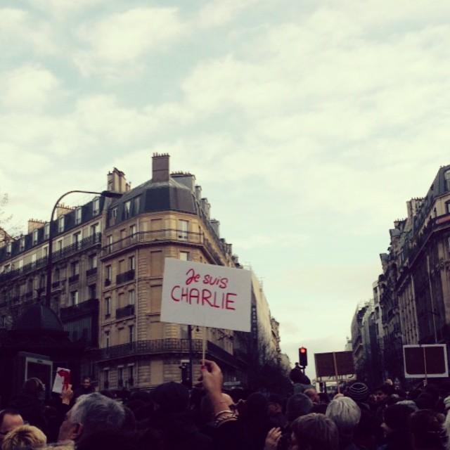 #JeSuisCharlie #11janvier #love #peace #liberty #paris