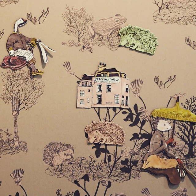 Difficult to resist this graphic magnetic wallpaper by Sian Zeng at M&O today... Also loved by @thesocialitefamily & @doolittlemagazine ? #sianzeng #wallpaper #deco #decor #Maisonetobjet #MO15 #design #kidsroom #original