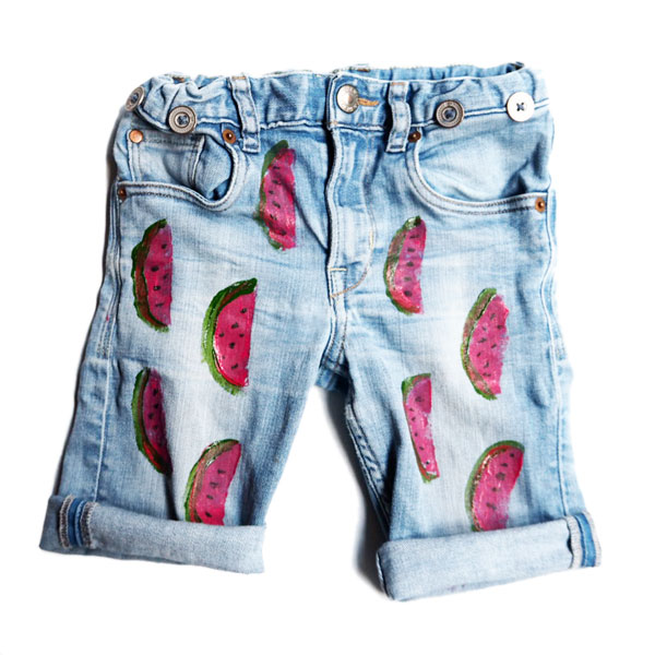 diy-watermelon-stamp-shorts-5