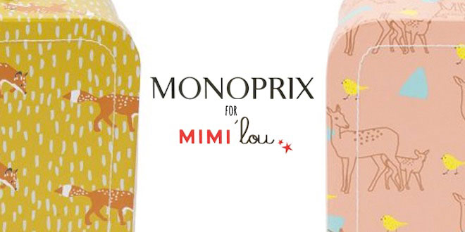 Mimi 39 lou for monoprix - Monoprix collection femme ...