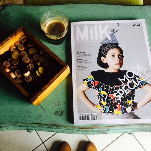 Afternoon coffee! Goûter du dimanche... Free Giveaway on our site! Enter to win Milk Magazine 47! Good luck to all at Playtime NY & happy March! #Spring #Milkmagazine #larecyclerie #instagramkids #kids #iloveplaytime #playtimenewyork #contest #concours #giveaway