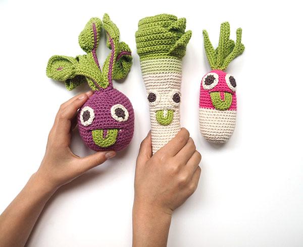 MyuM handmade veggie toys